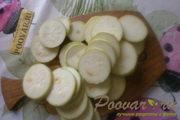 Хек с кабачками в томатном соусе Шаг 7 (картинка)