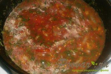 Хек с кабачками в томатном соусе Шаг 14 (картинка)