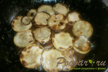 Хек с кабачками в томатном соусе Шаг 15 (картинка)