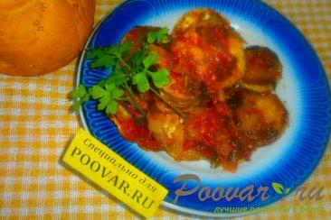 Хек с кабачками в томатном соусе Шаг 20 (картинка)
