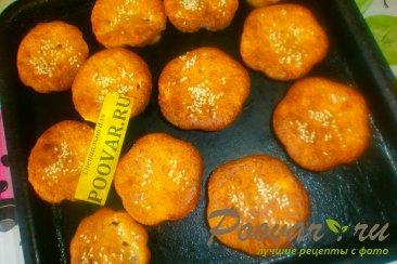 Творожные кексы с малиной и ежевикой Шаг 12 (картинка)