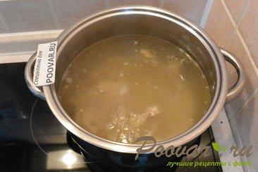 Борщ с фасолью и капустой Шаг 1 (картинка)
