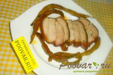 Свиная грудинка с фасолью Изображение