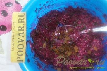 Салат из свёклы с укропом и изюмом Шаг 9 (картинка)