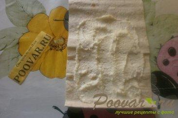 Лаваш с творожно-банановой начинкой Шаг 9 (картинка)