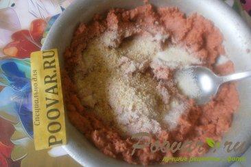 Лососевые котлеты с луком и сыром Шаг 3 (картинка)
