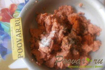 Лососевые котлеты с луком и сыром Шаг 2 (картинка)
