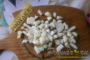 Лососевые котлеты с луком и сыром Шаг 4 (картинка)
