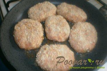 Лососевые котлеты с луком и сыром Шаг 11 (картинка)