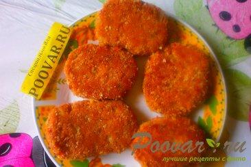 Лососевые котлеты с луком и сыром Шаг 13 (картинка)