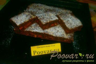 Шоколадный пирог с творогом и бананом Шаг 16 (картинка)