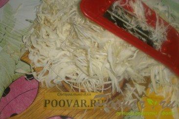 Жареные пирожки с капустой и баклажанами Шаг 3 (картинка)