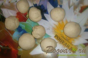 Жареные пирожки с капустой и баклажанами Шаг 14 (картинка)
