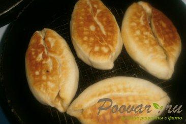 Жареные пирожки с капустой и баклажанами Шаг 18 (картинка)