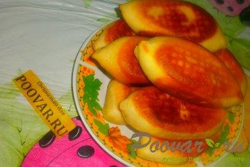 Жареные пирожки с капустой и баклажанами Шаг 19 (картинка)