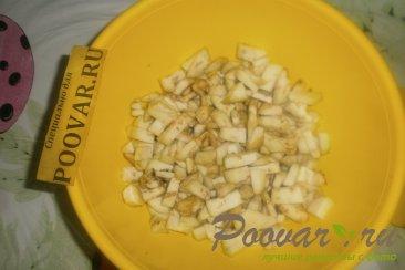 Жареные пирожки с капустой и баклажанами Шаг 6 (картинка)