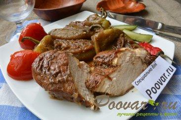 Куриное филе с жареным перцем и луком на сковороде Шаг 16 (картинка)