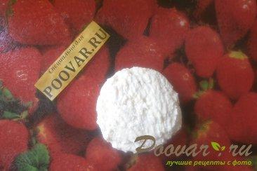 Сырники творожные с персиками Шаг 8 (картинка)