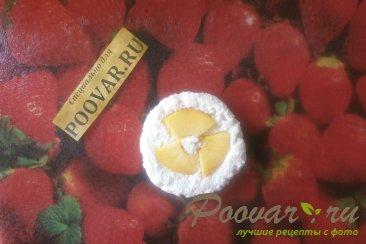 Сырники творожные с персиками Шаг 7 (картинка)