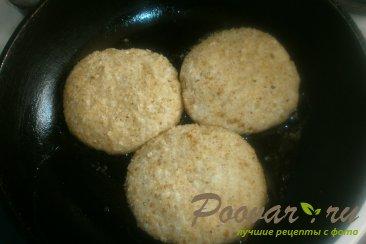 Сырники творожные с персиками Шаг 10 (картинка)