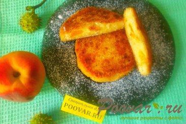 Сырники творожные с персиками Шаг 13 (картинка)