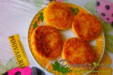 Сырники творожные с персиками Шаг 12 (картинка)
