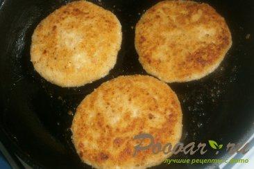 Сырники творожные с персиками Шаг 11 (картинка)