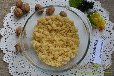 Кондитерская крошка - ореховый штрейзель Изображение