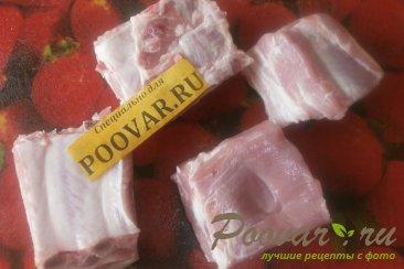 Свиная грудинка запечённая с помидорами Шаг 2 (картинка)