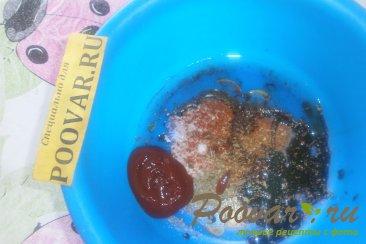 Свиная грудинка запечённая с помидорами Шаг 4 (картинка)