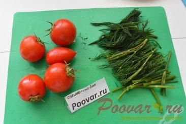 Скумбрия запеченная с овощами в рукаве Шаг 6 (картинка)