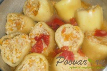 Фаршированный перец в томатно-сметанном соусе Шаг 15 (картинка)