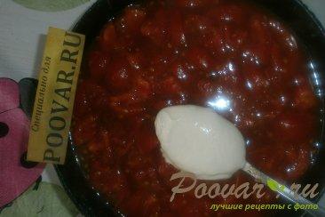 Фаршированный перец в томатно-сметанном соусе Шаг 14 (картинка)