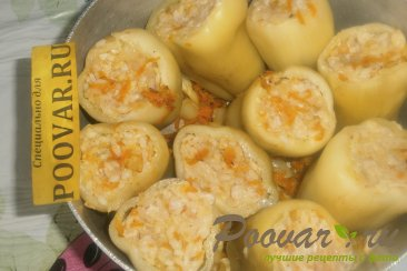 Фаршированный перец в томатно-сметанном соусе Шаг 12 (картинка)