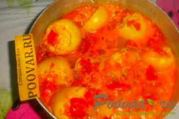 Фаршированный перец в томатно-сметанном соусе Шаг 16 (картинка)