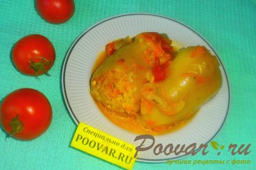 Фаршированный перец в томатно-сметанном соусе Шаг 17 (картинка)