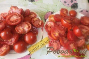 Овощное ассорти в томатной заливке на зиму Шаг 2 (картинка)