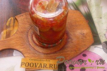 Овощное ассорти в томатной заливке на зиму Шаг 13 (картинка)