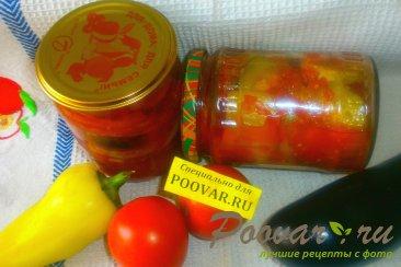 Овощное ассорти в томатной заливке на зиму Шаг 14 (картинка)