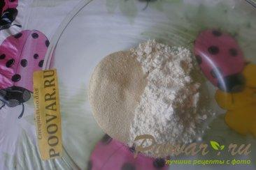 Печенье с манной крупой Шаг 1 (картинка)