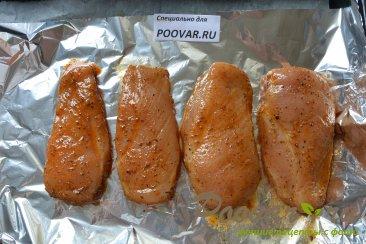 Запеченная куриная грудка в духовке Шаг 9 (картинка)