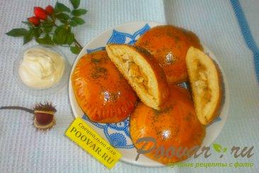 Пирожки с капустой и курицей Шаг 20 (картинка)