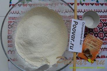 Пирог с творогом и штрейзелем Шаг 3 (картинка)