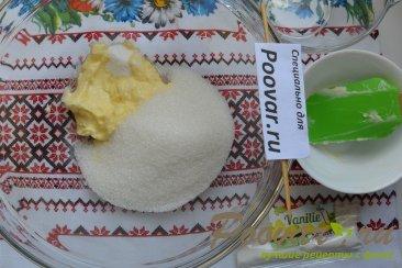 Пирог с творогом и штрейзелем Шаг 4 (картинка)