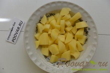 Куриный суп с грибами и сыром Шаг 6 (картинка)