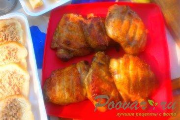 Куриные бёдра с хмели - сунели на мангале Изображение
