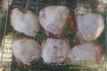 Куриные бёдра с хмели - сунели на мангале Шаг 7 (картинка)