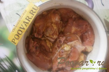 Куриные бёдра с хмели - сунели на мангале Шаг 6 (картинка)