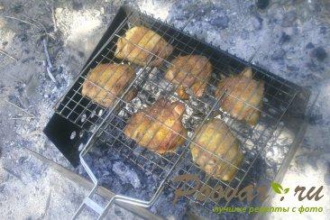 Куриные бёдра с хмели - сунели на мангале Шаг 11 (картинка)