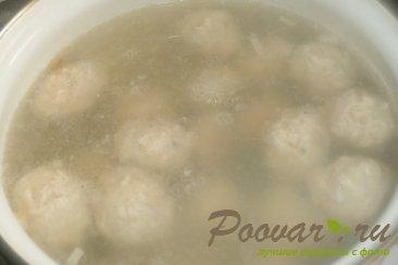 Суп с куриными фрикадельками Шаг 12 (картинка)